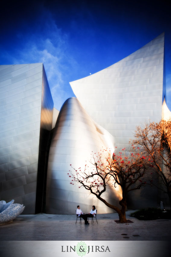 Wedding Photography at Walt Disney Concert Hall