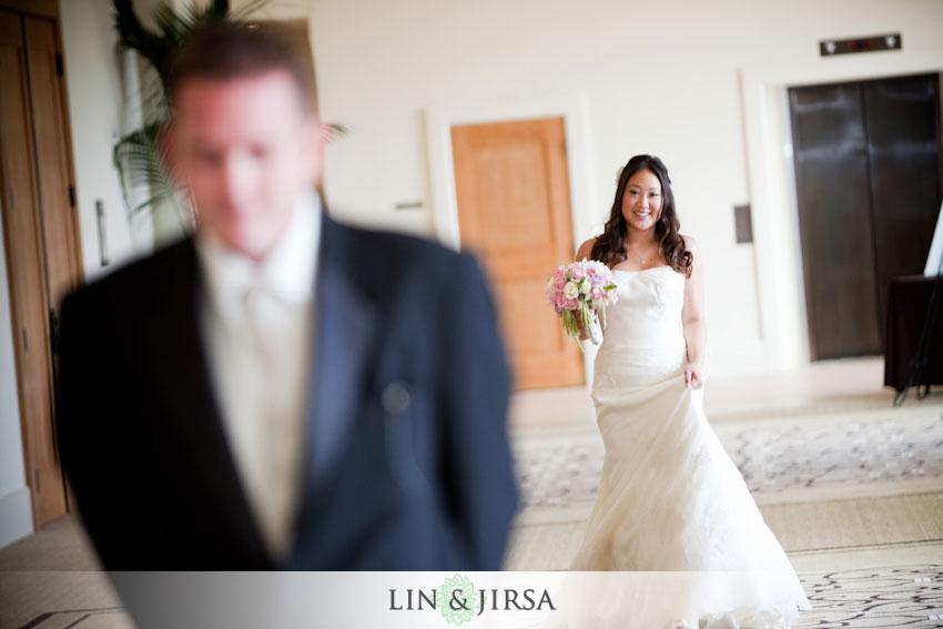 Terranea Resort Wedding First Look
