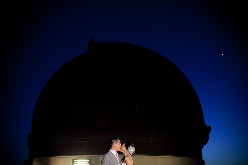 Griffith Park Engagement Photography