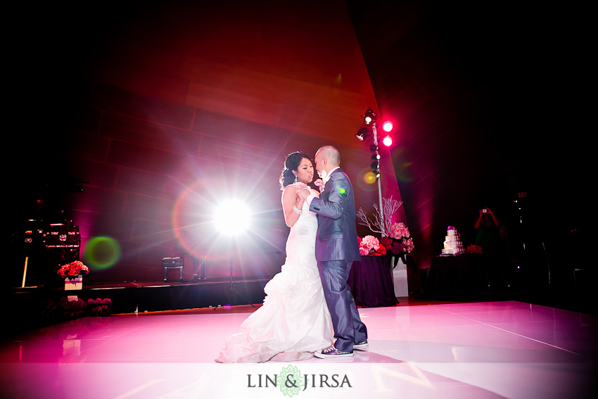 Walt Disney Concert Hall Wedding First Dance