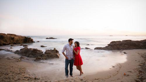 0046 RN Heisler Park Laguna Beach Engagement Photography