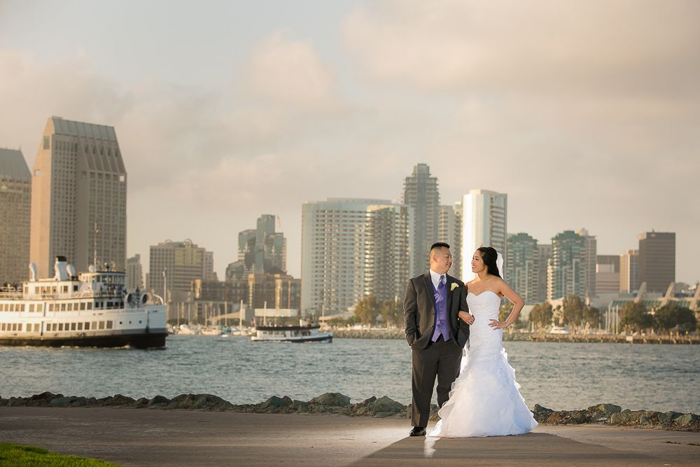 0677 KJ Marriott Coronado Island Wedding Photography