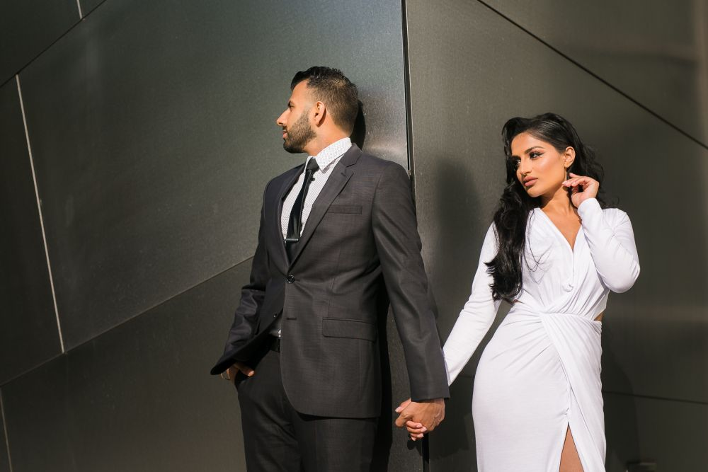 0058 AS Walt Disney Concert Hall Downtown Los Angeles Engagement Photography