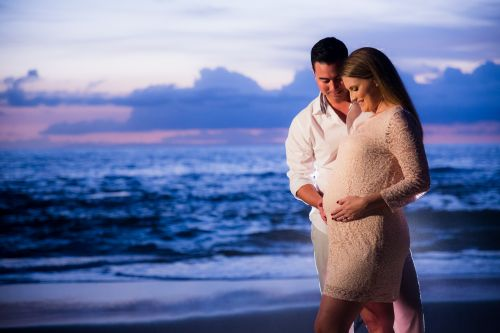 Victoria Beach Orange County Maternity Photography