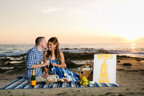 0046 CC Victoria Beach Orange County Engagement Photography