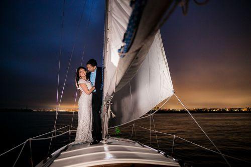 14 Marina Del Rey Venice Sailing Engagement Photography Session