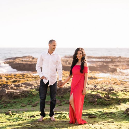 0015 SM Victoria Beach Orange County Engagement Photography 1