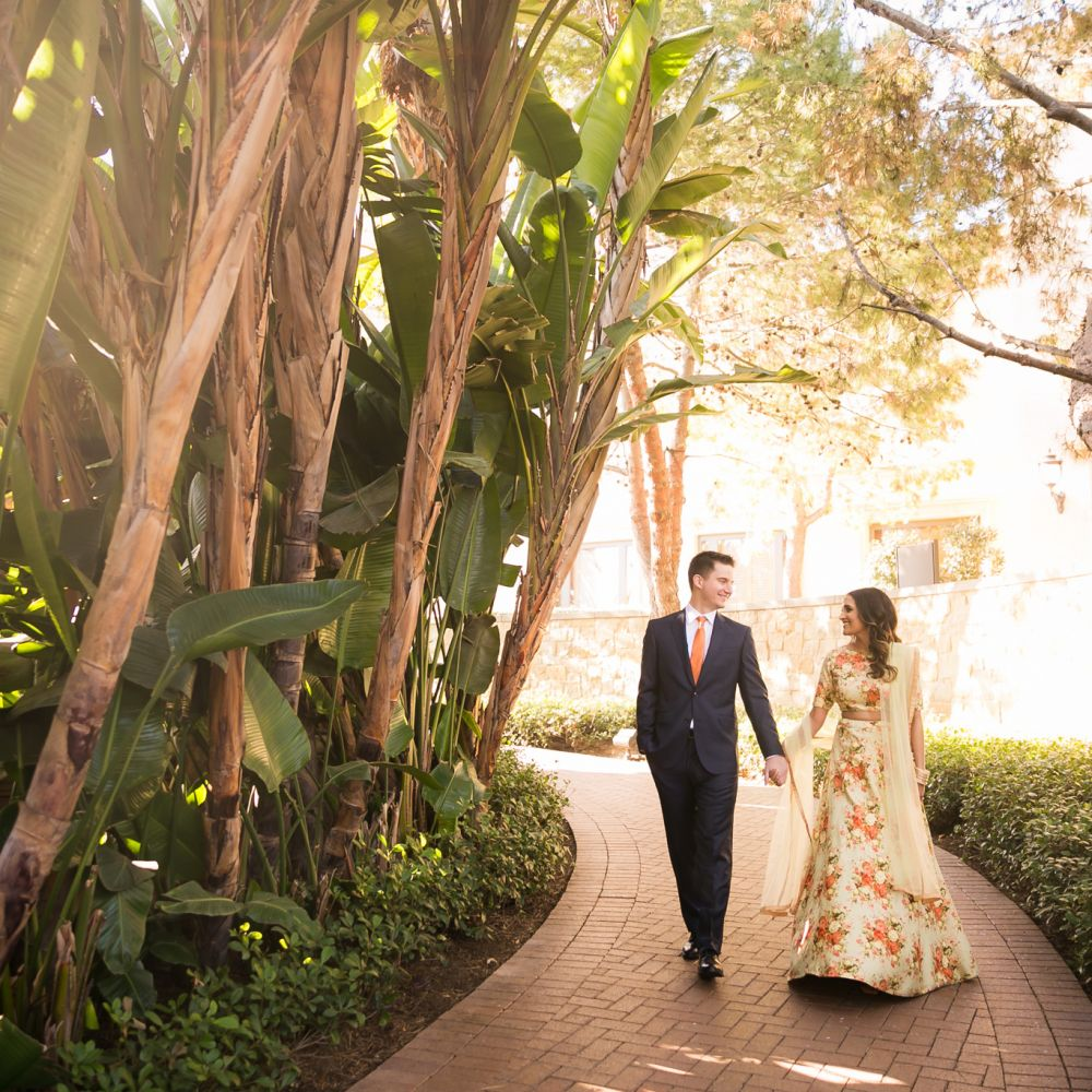 0 pelican hill indian engagement party photography