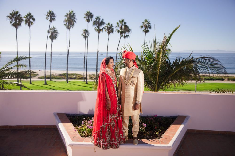 43 Hilton Santa Barbara Indian Wedding Photography
