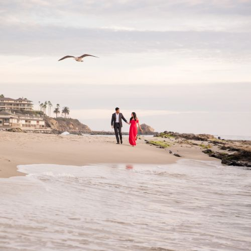 00 Victoria Beach Orange County Engagement Photography