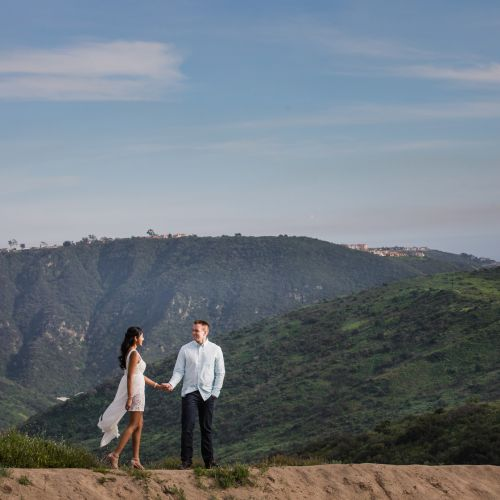 00 Top of the World Laguna Beach Engagement Photography