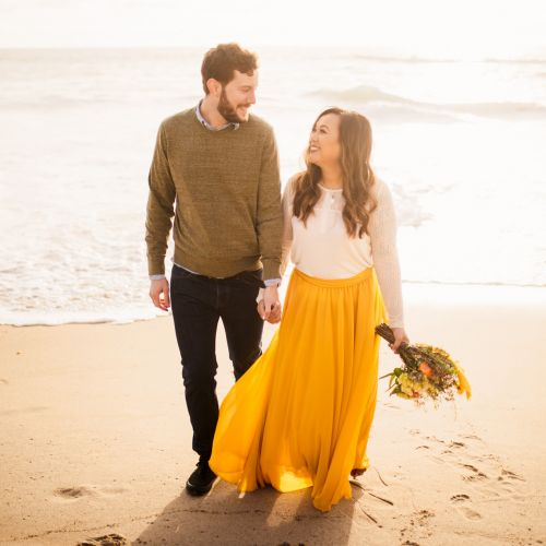 01 Victoria Beach Orange County Spring Engagement Photography