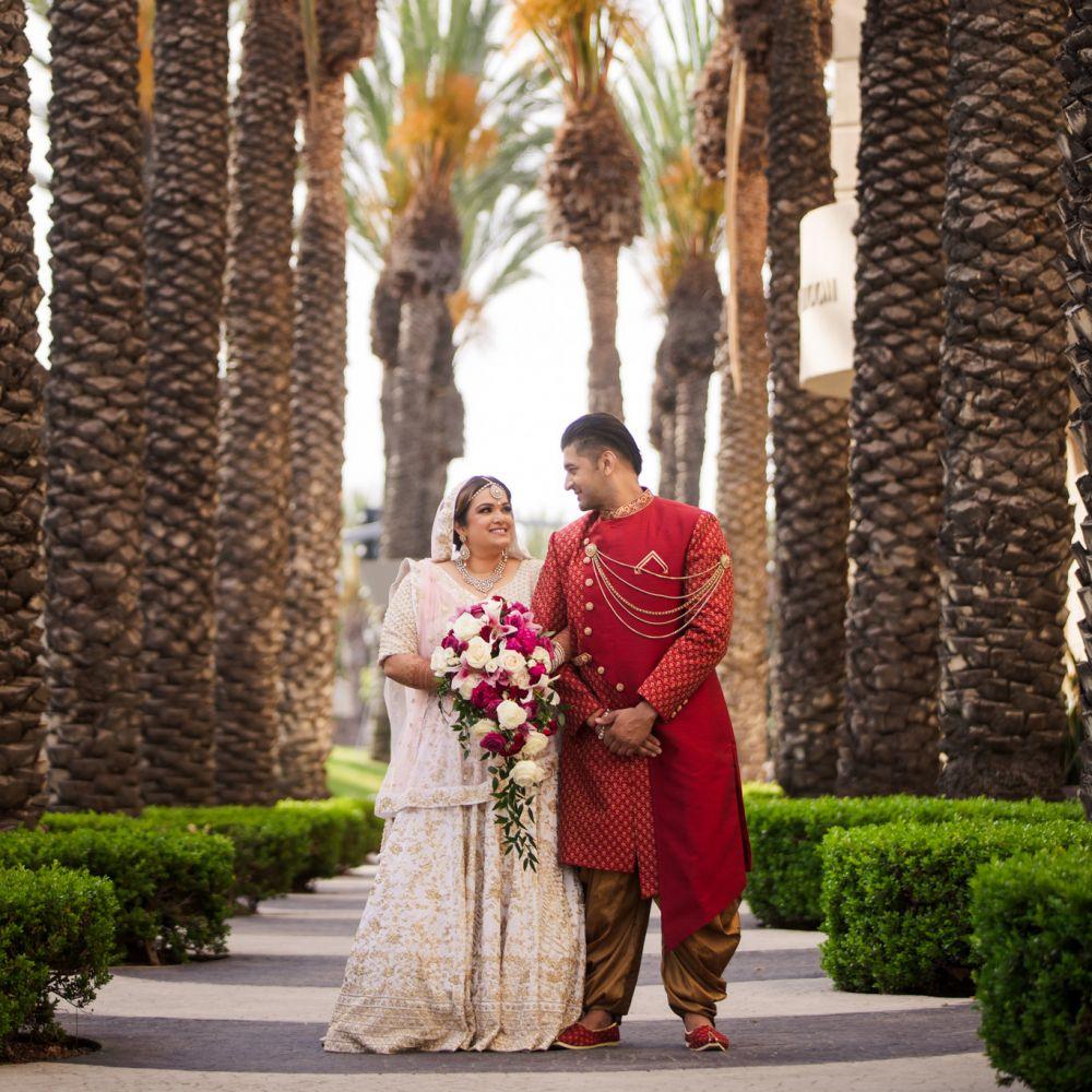 0 Hyatt Regency Orange County Indian Wedding Photography