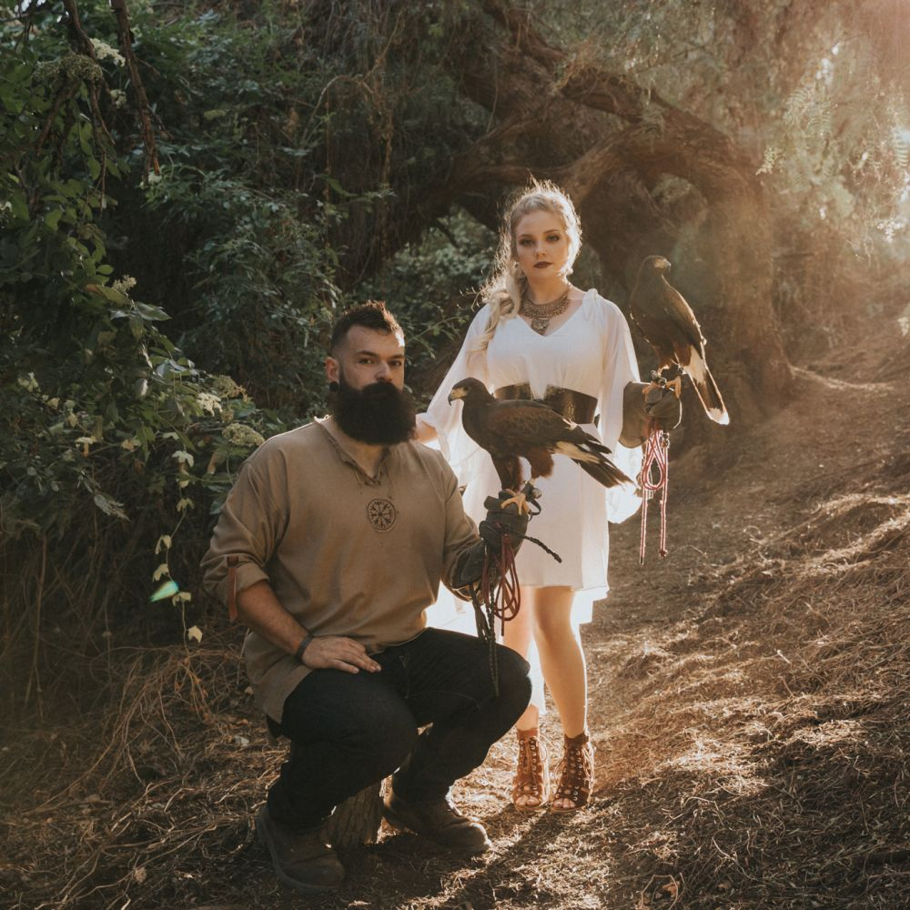 00 Oak Canyon Nature Center Orange County Game of Thrones Engagement Photography