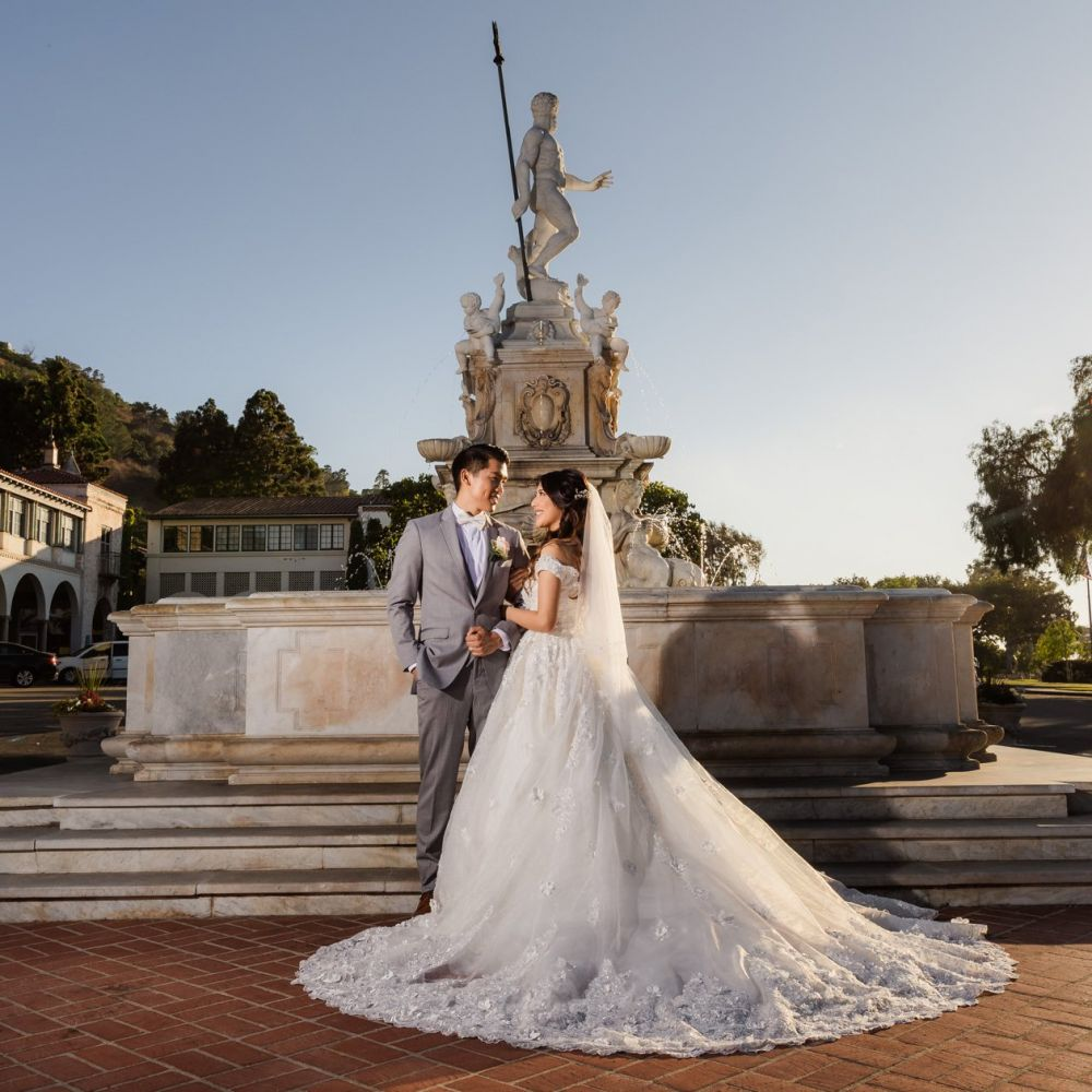 00 Malaga Cove Plaza Rancho Palos Verdes Engagement Photography