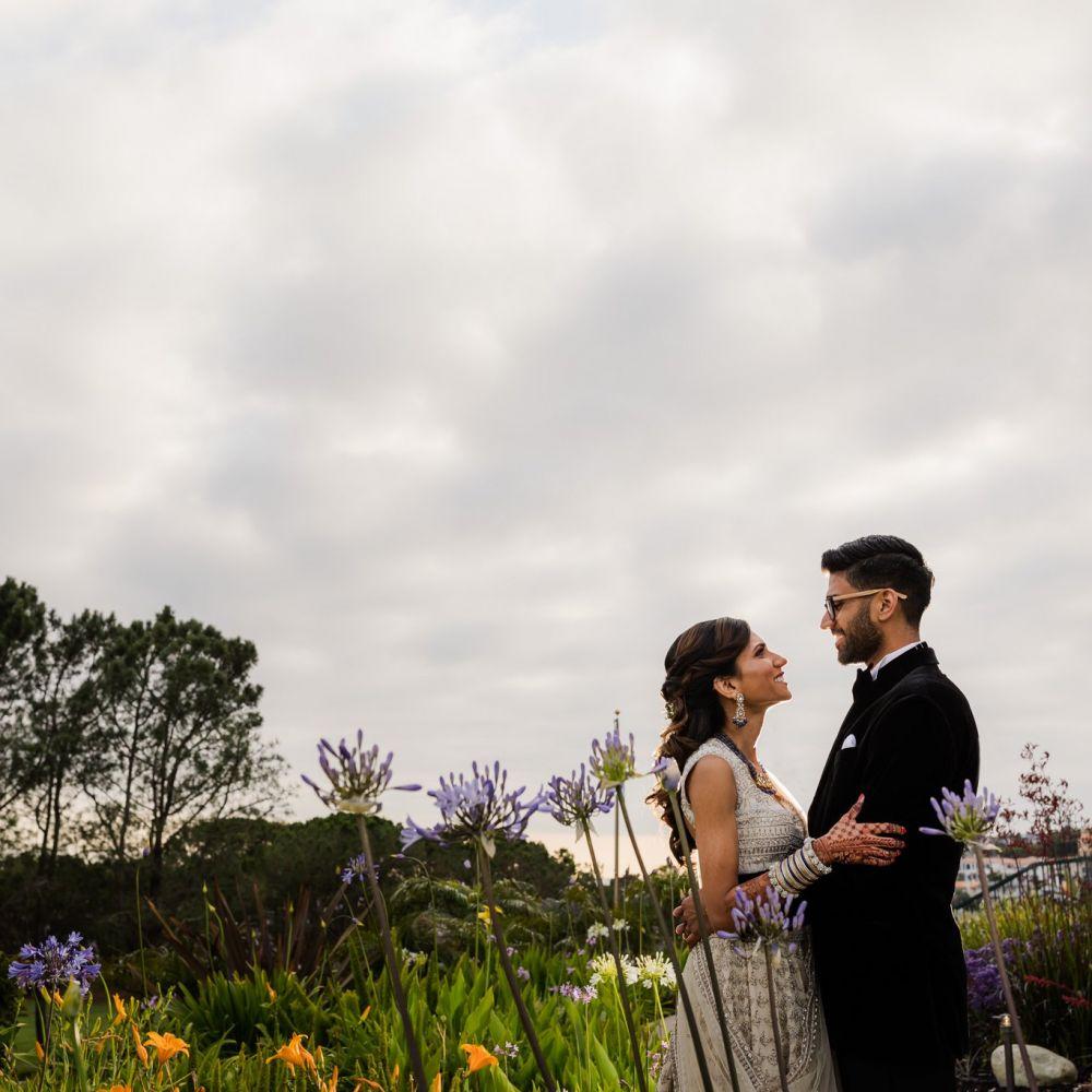 45 Laguna Cliffs Marriott Indian Wedding Reception Photographer