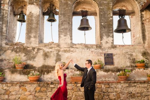 00 San Juan Capistrano Mission Engagement Photography