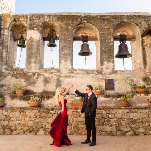 00 San Juan Capistrano Mission Engagement Photography