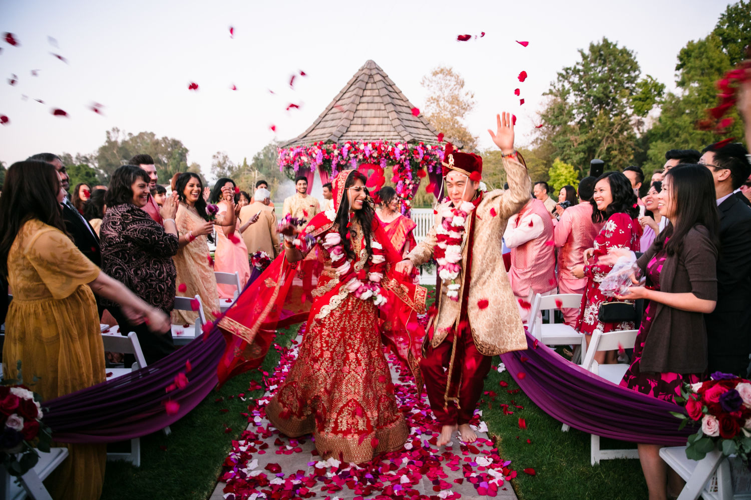 grand tradition estate fusion indian wedding 1