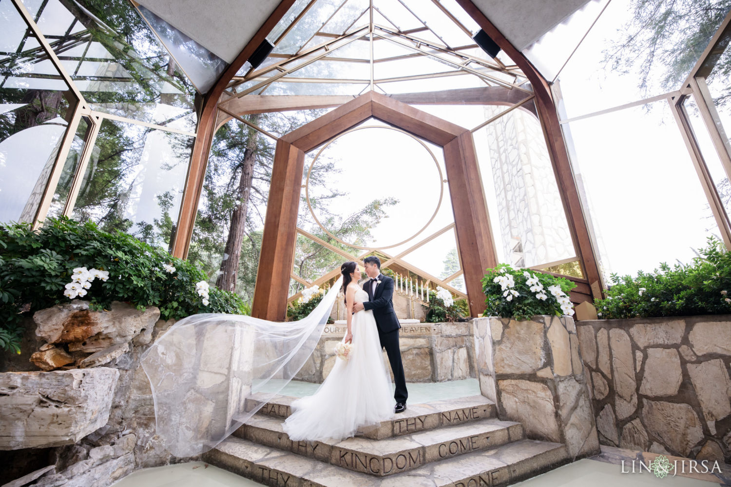 0260 HJ Wayfarers Chapel Trump National Golf Club Rancho Palos Verdes Los Angeles County Wedding Photography