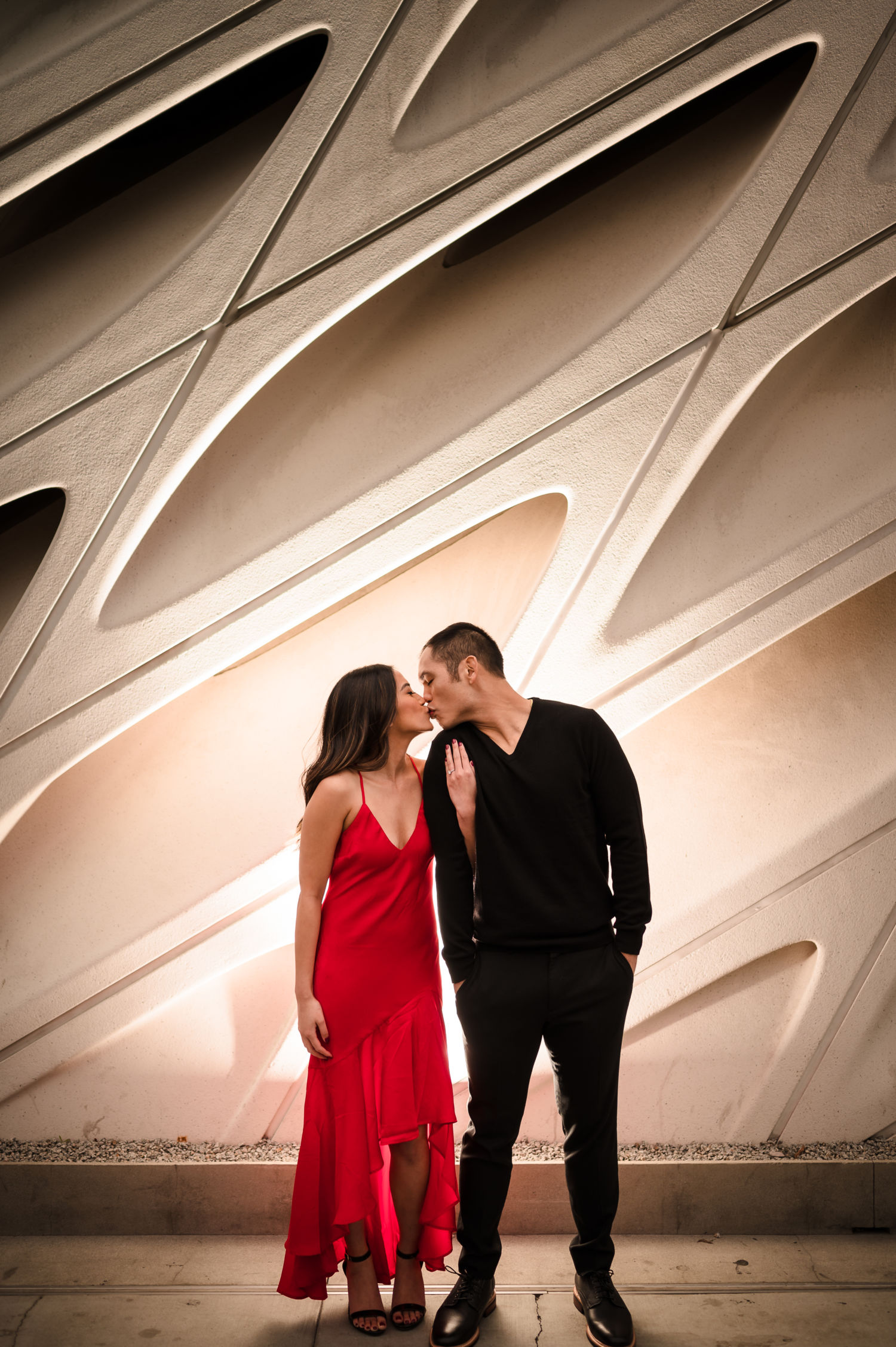 0053 ML Walt Disney Concert Hall Los Angeles County Engagement Photography 1