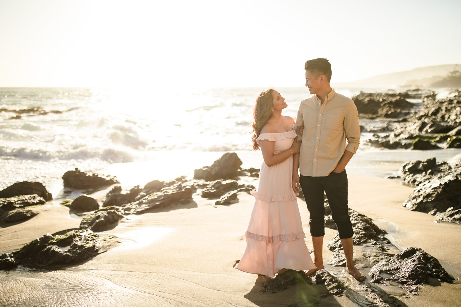 TD Victoria Beach Engagement Session Photography 0046