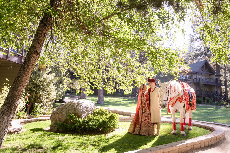 Hyatt Regency Lake Tahoe Resort Fusion Wedding