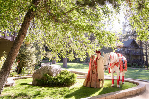 Hyatt Regency Lake Tahoe Resort Fusion Wedding