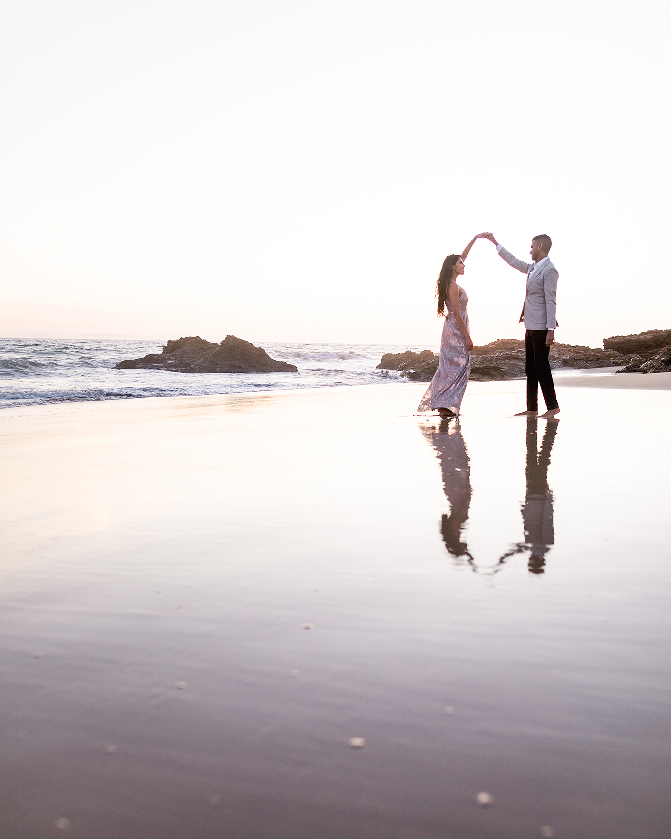Little Treasure Cove Engagement Session Orange County Lin and Jirsa Photography01
