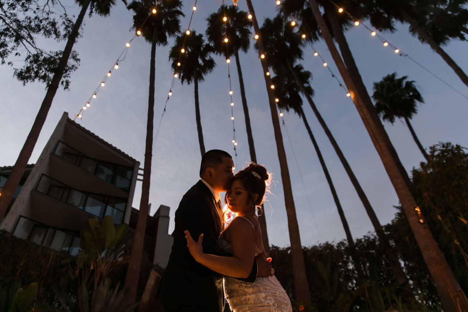 Hotel Maya Long Beach Samantha and Kristoffer Micro Wedding