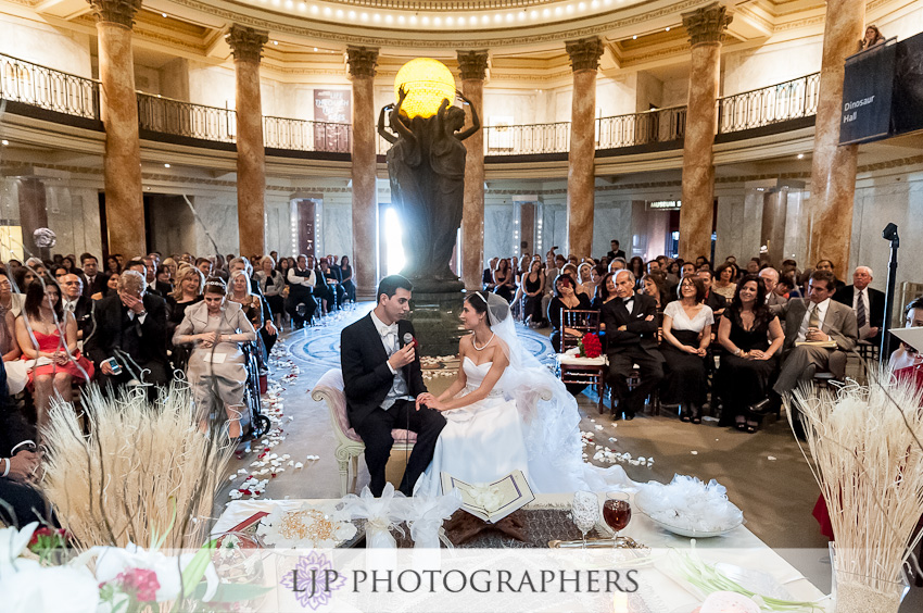 The Natural History Museum of Los Angeles Wedding | Aidin & Lillian