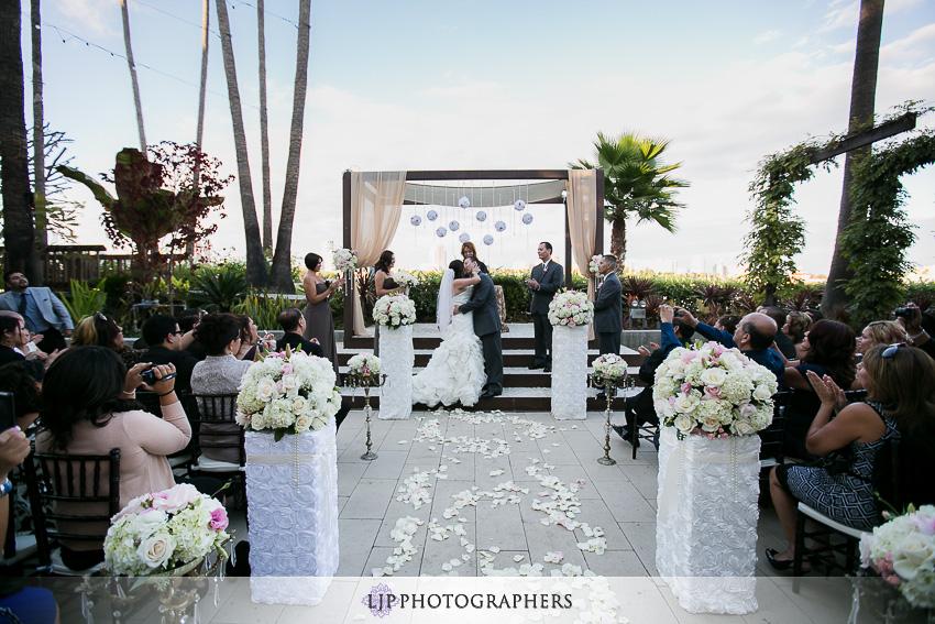 Hotel Maya Long Beach Wedding Photographer