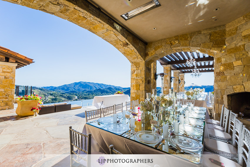 Malibu vineyard estate wedding reception brett and sona for Malibu rocky oaks wedding price