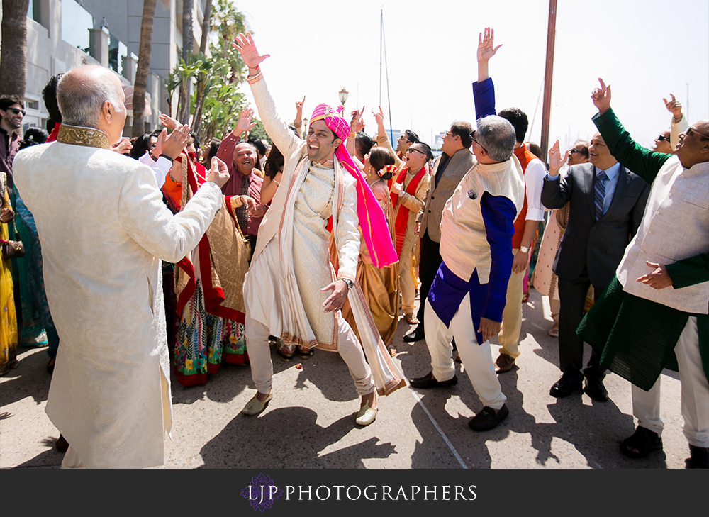 16-the-ritz-carlton-marina-del-rey-indian-wedding-photographer-wedding-party-baraat-photos