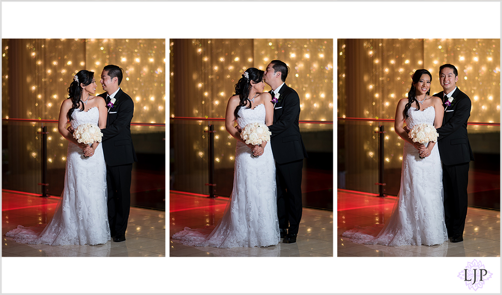 08-jw-marriott-los-angeles-wedding-photographer-first-look-wedding-party-couple-session-photos