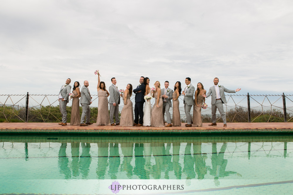 22-adamson-house-malibu-wedding-photographer-wedding-first-look-wedding-party-photos