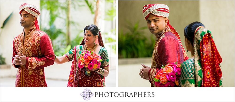 09-newport-beach-marriott-hotel-indian-wedding-photographer-first-look-couple-session-photos