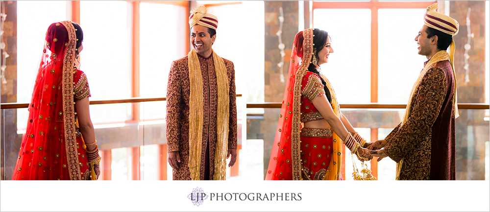 12-santiago-canyon-mansion-indian-wedding-photographer-first-look-couple-session-photos