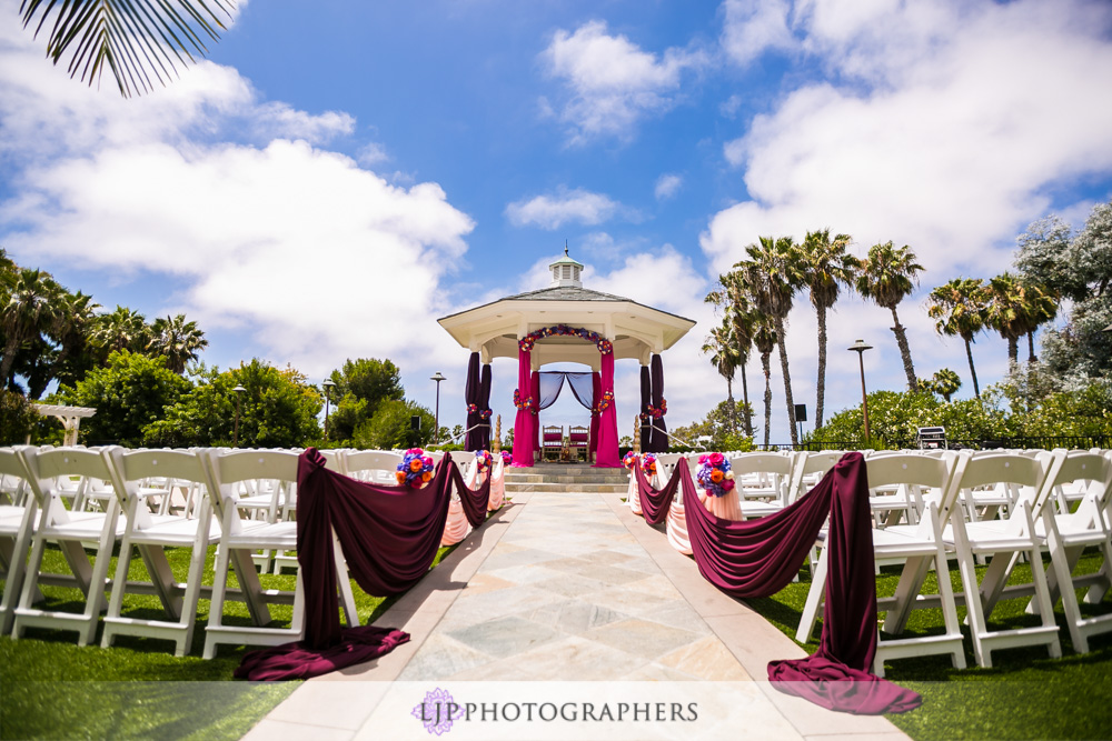 16 Newport Beach Marriott Hotel Indian Wedding Photographer