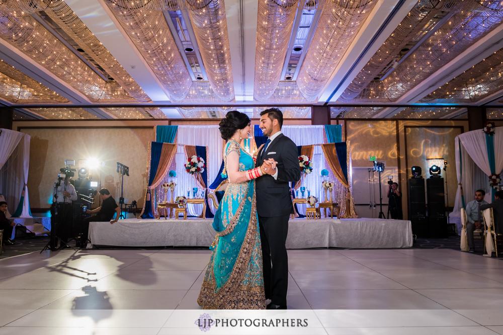 Hyatt Regency Long Beach Wedding Reception
