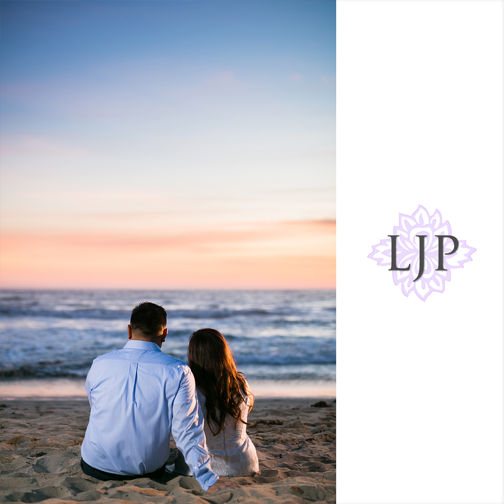 Temescal Beach House Wedding: Santa Monica Pier Engagement
