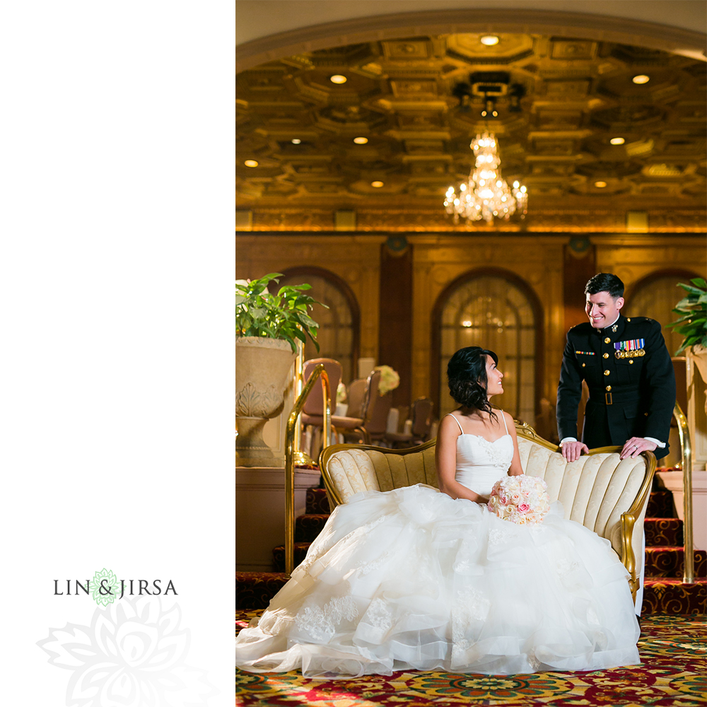 Millennium Biltmore Hotel Wedding   Sheila & Robert
