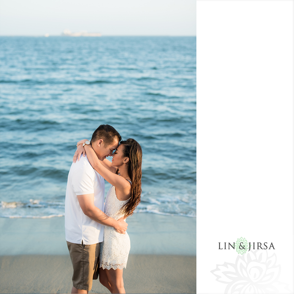Temescal Beach House Wedding: Signal Hill Engagement