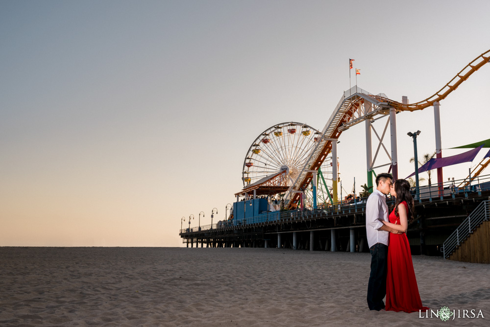 01-Santa-Monica-Engagement-Photography