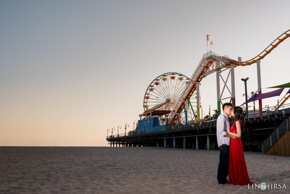 01-Santa-Monica-Engagement-Photography