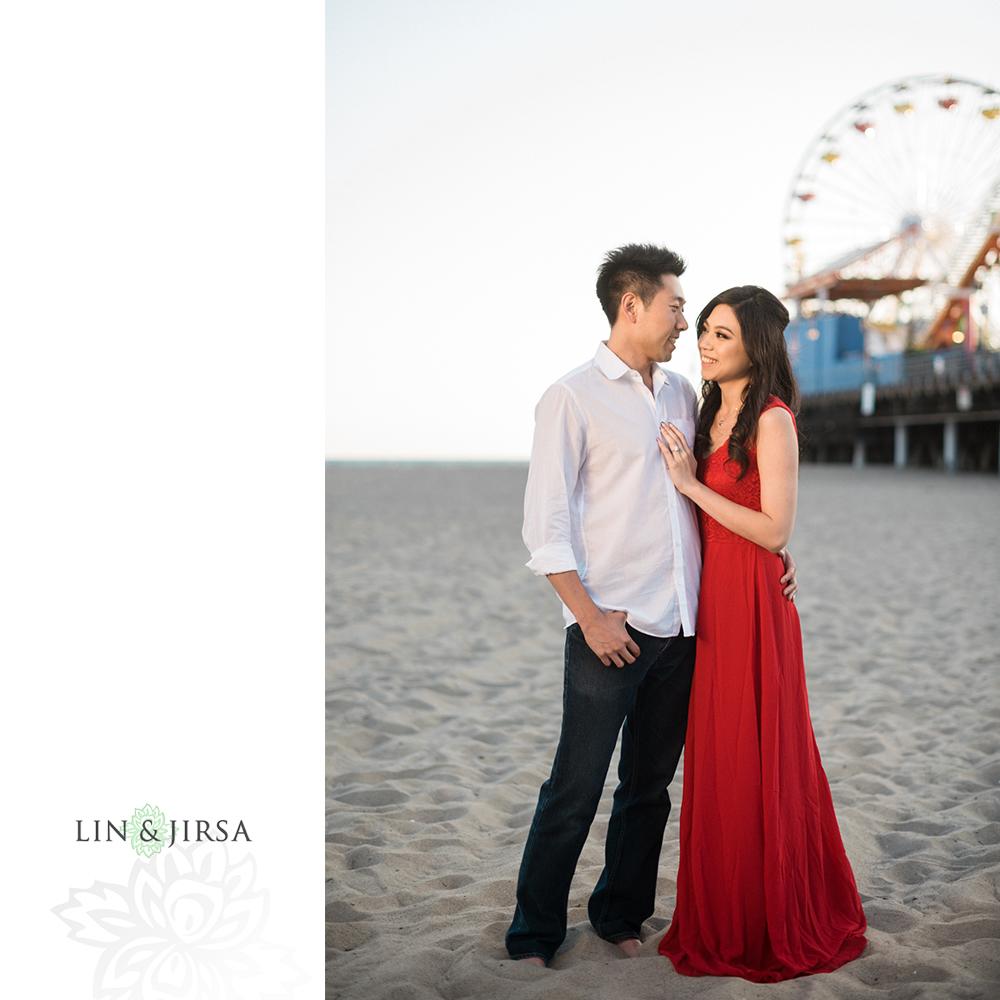 02-Santa-Monica-Engagement-Photography