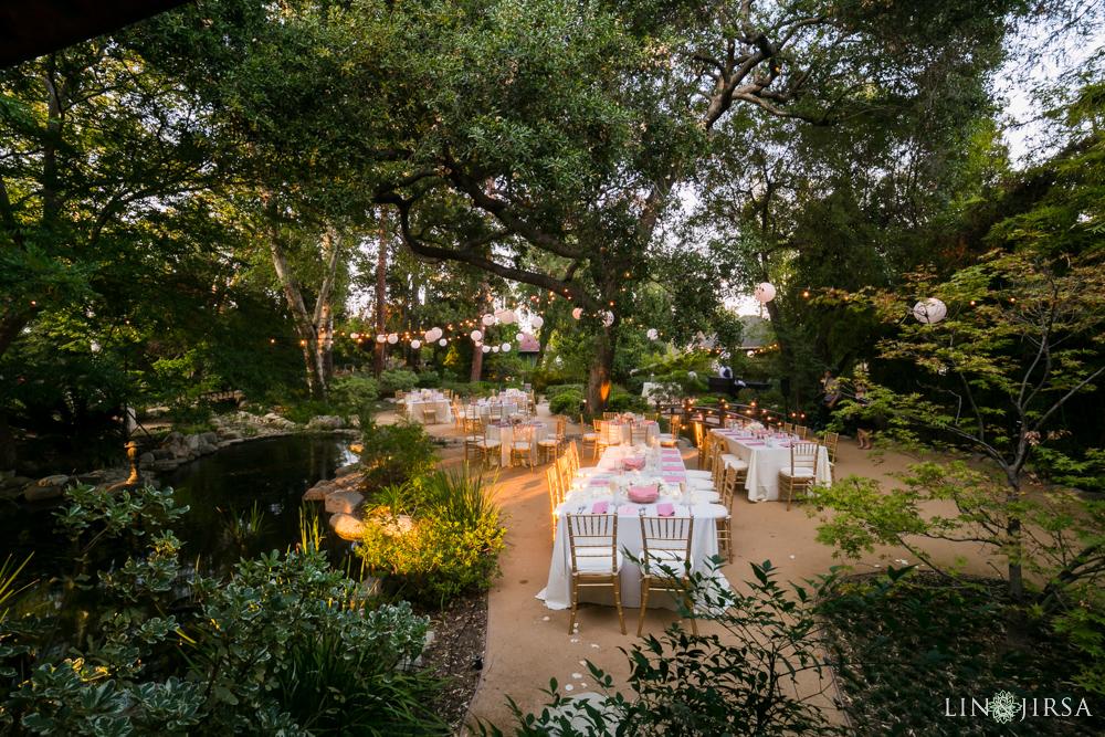 Japanese garden pasadena wedding