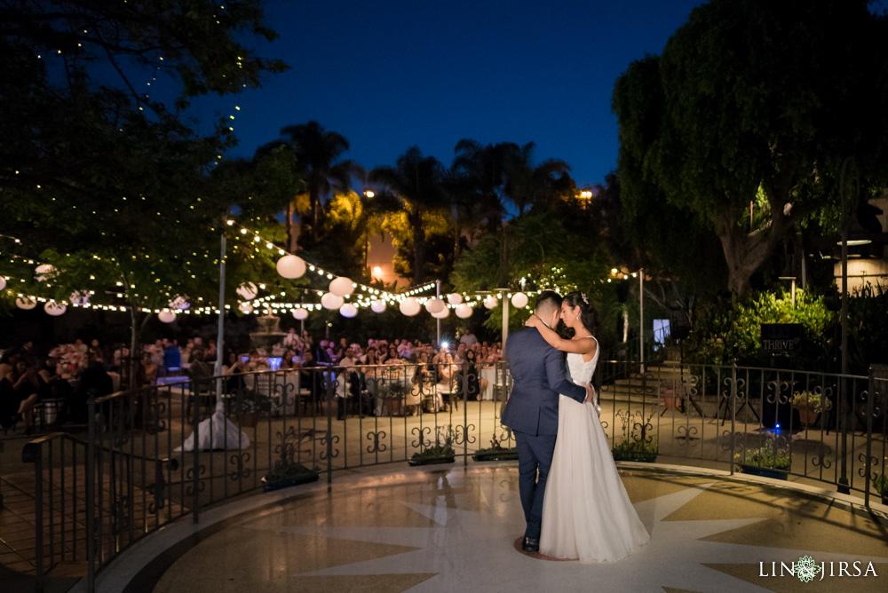 Los Angeles River Center Gardens Wedding Evelyn Ace