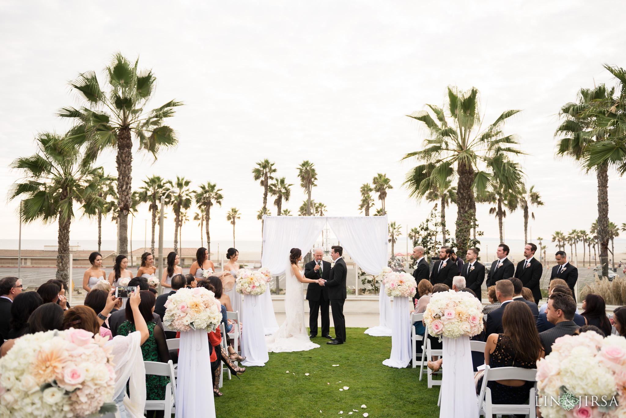 Huntington Beach Hyatt Regency Wedding