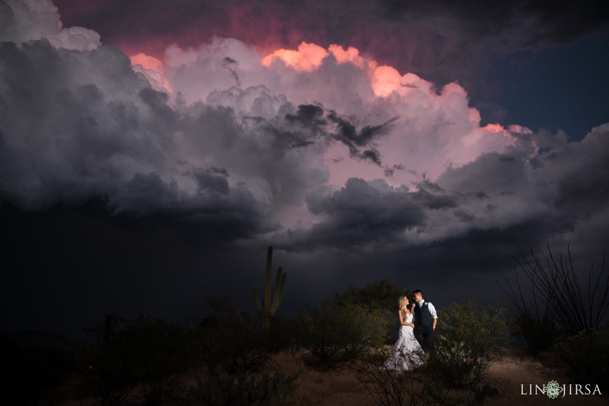 Wedding Photography Arizona: Saguaro Buttes Arizona Wedding